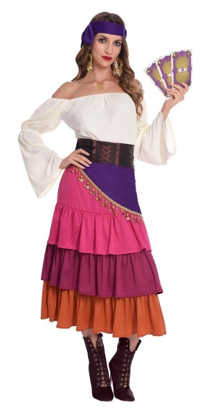 Fortune Teller Ladies Costume Talia
