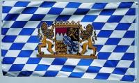 Bayrische Wappen Fahne 1,5m x 90cm