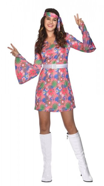 Girly Hippie Damenkostüm