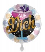 Auf Dich Folienballon 45cm