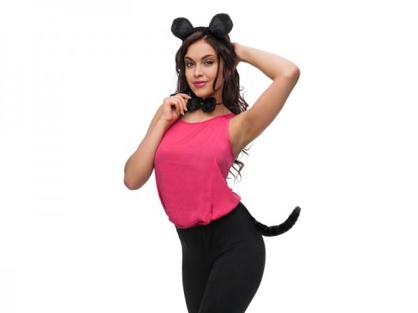 Dreiteiliges Maus-Kostümset