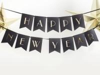 Prosit Neujahr Wimpelkette 1,7m
