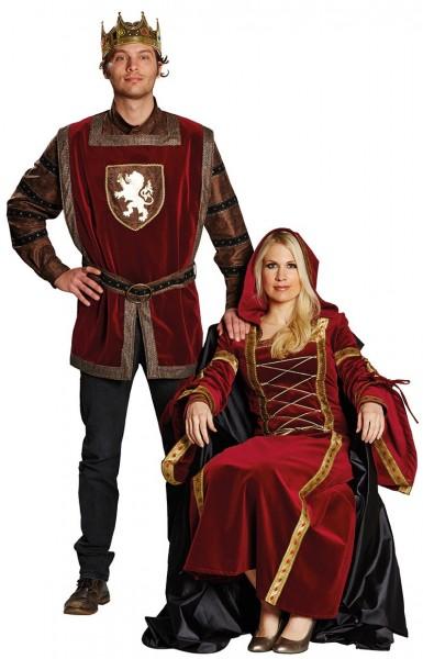 Lady Ronja kasteel dame kostuum