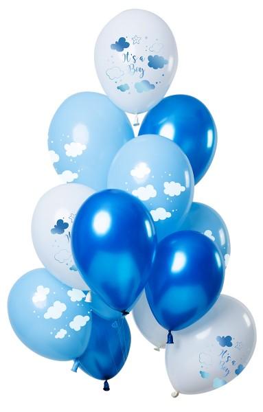 12 Es un niño globos de aire 30cm.