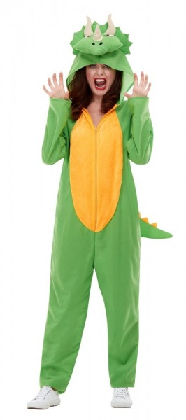 Dino Triceratops costume for adults