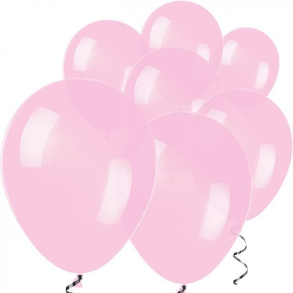 100 palloncini rosa chiaro Rumba 12,7 cm