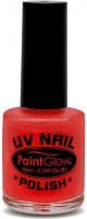 Roter UV Nagellack
