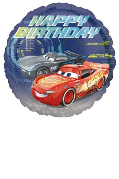 Geburtstagsballon Cars Lightning McQueen