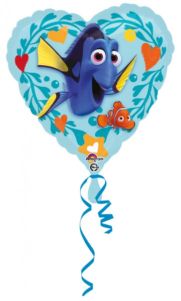 Heart Balloon trouve l'aventure sous-marine de Dory