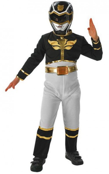Power Ranger Megaforce Schwarz Kinder Kostüm