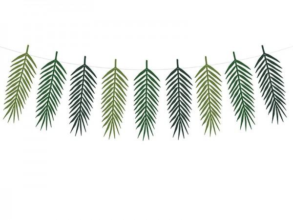 Palmenblätter Girlanden Set Kohakai