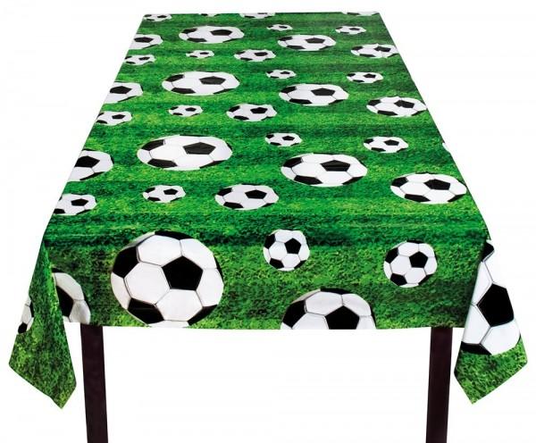 Fußball Platz Tischdecke 120 x 80cm