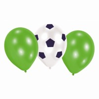 6 Luftballons Kicker-Party