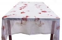 Blutverschmierte Party Tischdecke Von Dr. Hoppala 150 x 180cm