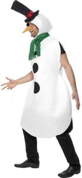 Classic snowman costume for men