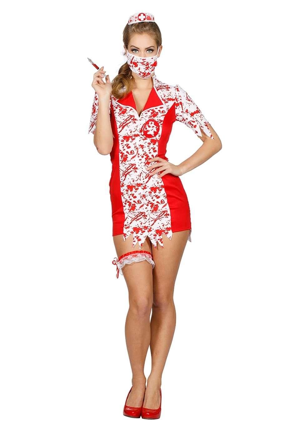 Horror Horror Sexy Krankenschwester Kostüm Kostüm Sexy Sexy Krankenschwester m0vN8nOw