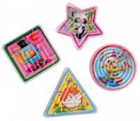 Kindergeburtstag Geduldsspiele Mit Niedlichem Tiermotv 4 Stück