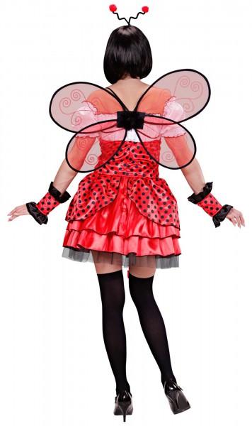 Merle Ladybug dames kostuum