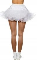 Mini Petticoat Weiß Mit Drahtkante