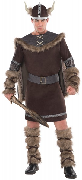 Viking Warrior Erik Costume Men's