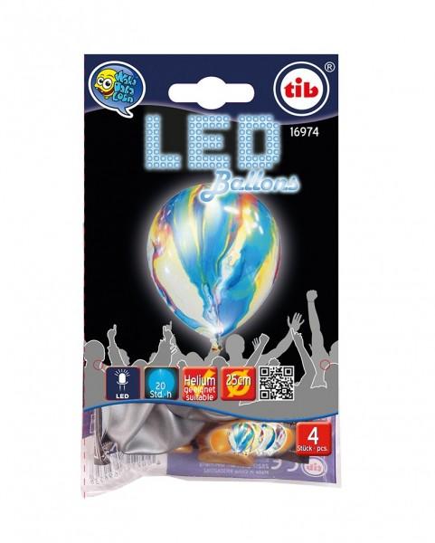 4 ballons LED jouent de couleurs brillantes 23cm