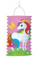 Zauberhafte Laterne Rainbow Sparkle 28cm