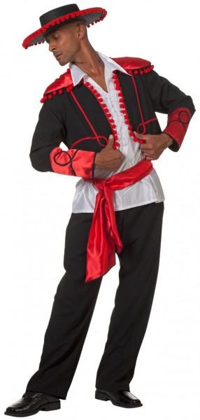 Tanzendes Flamenco Herrenkostüm