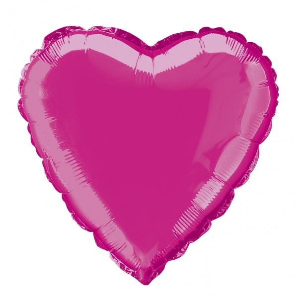 Heart balloon True Love pink