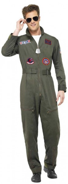 Fearless fighter pilot costume