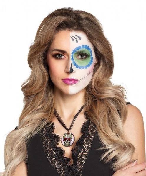 Collier de crâne de bijoux de mort