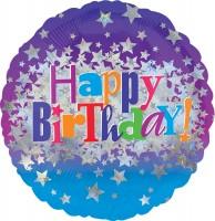 Folienballon Geburtstags-Sternchen