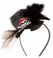 Piratenbraut Hütchen-Reif