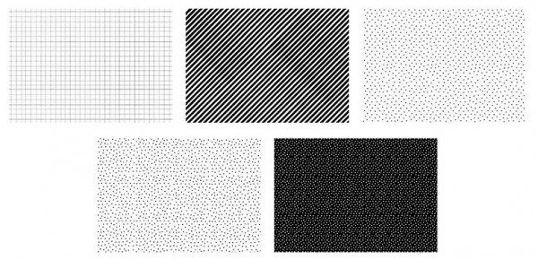 50 sheets of Black & White wrapping paper