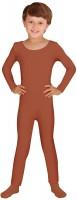 Body enfant manches longues marron