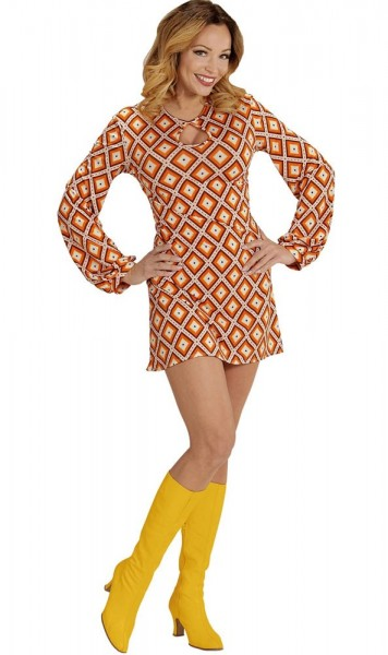 70er-Jahre Lady Melinda Kleid