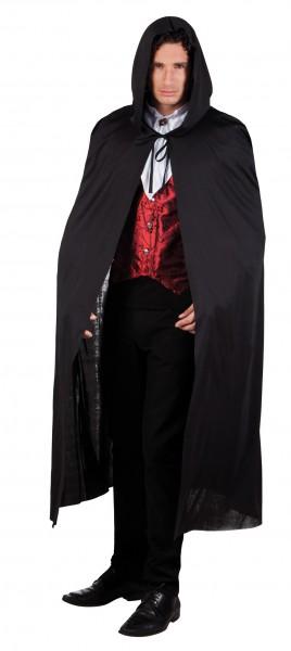 Classic Dracula cape in black