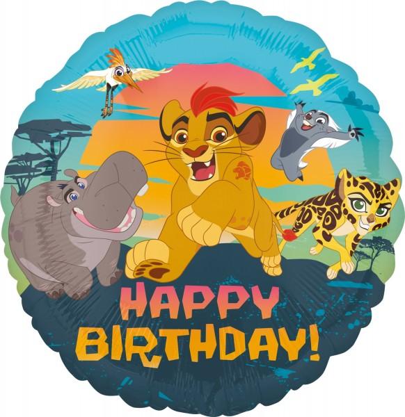 Geburtstagsballon Königliche Garde der Löwen
