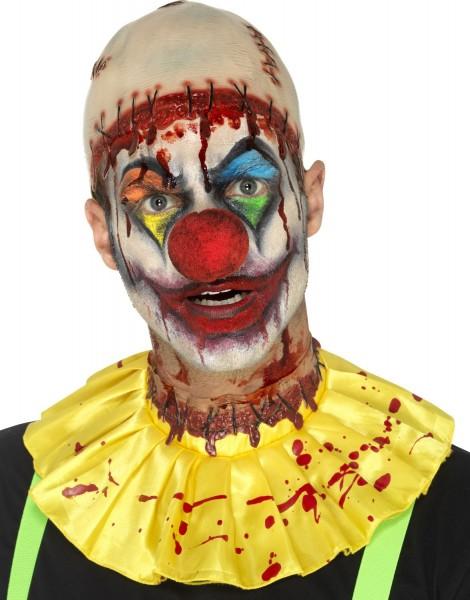 Psycho Clown 2 delige set met kaal en krullend