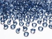 100 Streudeko Diamanten dunkelblau 1,2cm