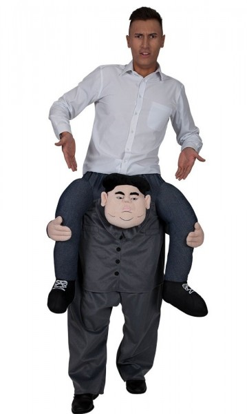 Piggyback Dictator kostuum voor volwassenen