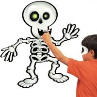 Halloween Skelett Steck Partyspiel