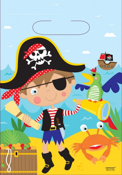 Little Pirate gift bag 16.5x23cm
