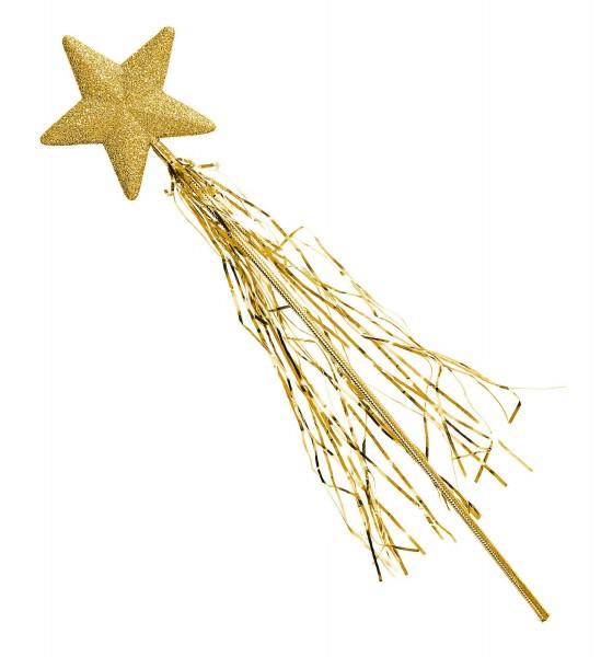 Glitter star wand 46cm