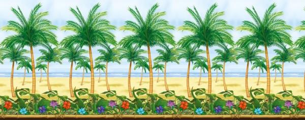 Fondo de pared de Palm Beach 1,2 x 12,2m