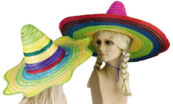 Mädchen Fiesta Strohhut Junggesellinnenabschied