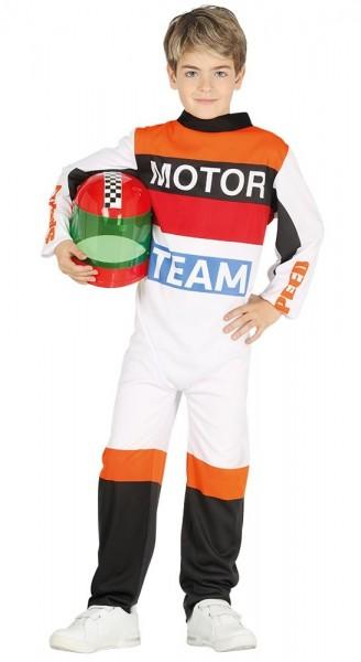 Rennfahrer Kinderkostüm Pasqual