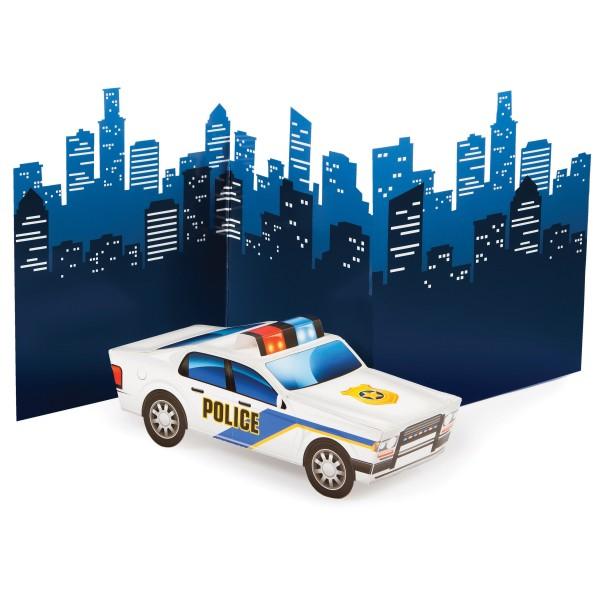 Polizei Revier Tischdeko