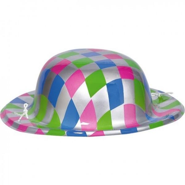 Mini czapka Disco Fever 70s kolorowa
