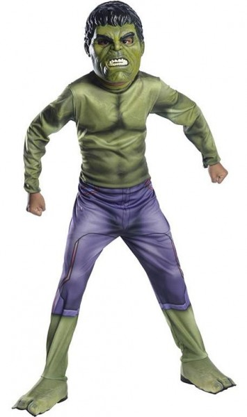 Kleiner Hulk Kinderkostüm