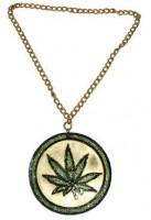 Cannabis Hippie Kiffer Kette